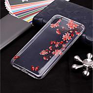 billige Etuier til iPhone 8-Etui Til Apple iPhone XR / iPhone XS Max Transparent / Mønster Bagcover Træ Blødt TPU for iPhone XS / iPhone XR / iPhone XS Max