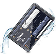 Недорогие Galaxy Tab Защитные пленки-Cooho Защитная плёнка для экрана для Samsung Galaxy Tab 4 7.0 / Tab 3 8.0 / Tab 7.7 Закаленное стекло 1 ед. Защитная пленка для экрана HD / Уровень защиты 9H / 2.5D закругленные углы