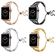 billige -Urrem for Apple Watch Series 4/3/2/1 Apple Sommerfugle Spænde Rustfrit stål Håndledsrem