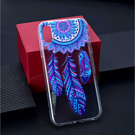 abordables Fundas para iPhone 8 Plus-Funda Para Apple iPhone XR / iPhone XS Max Transparente / Diseños Funda Trasera Atrapasueños Suave TPU para iPhone XS / iPhone XR / iPhone XS Max