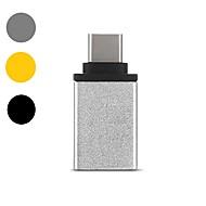 OTG / Typ C Zasilacz <1m / 3ft 1080P / Vysokorychlostní / Rychlé nabíjení hliník Adaptér kabelu USB Pro Samsung / Huawei / LG