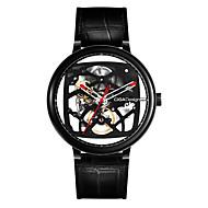 billige -original xiaomi ciga design hul mekanisk ur kreative læderrem ure automatisk mekanisk mænds ur