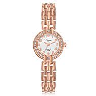 halpa -Naisten Rannekello Diamond Watch kultakello Quartz Hopea / Ruusukulta Uusi malli Arkikello jäljitelmä Diamond Analoginen Vapaa-aika Muoti - Valkoinen / Hopeanvärinen Ruusukulta / Valkoinen Musta