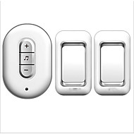 cheap -Factory OEM Wireless Two to One Doorbell Music / Ding dong Non-visual doorbell Surface Mounted