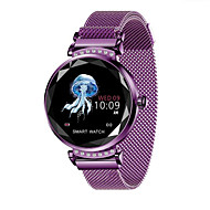 お買い得  -BoZhuo H2C 女性 スマートブレスレット Android iOS ブルートゥース スポーツ 防水 心拍計 血圧測定 消費カロリー 歩数計 着信通知 睡眠サイクル計測器 座りがちなリマインダー 端末検索 / 目覚まし時計