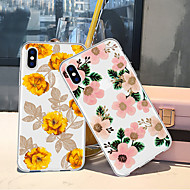 Case For Apple iPhone XR / iPhone XS Max Pattern Back Cover Plants / Flower Soft TPU for iPhone XS / iPhone XR / iPhone XS Max