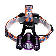 preiswerte Taschenlampen, Laternen & Lichter-U'King Stirnlampen Fahrradlicht LED LED Sender 3 Beleuchtungsmodus inklusive Ladegeräten Zoomable-, einstellbarer Fokus, Einfach zu tragen Camping / Wandern / Erkundungen, Für den täglichen Einsatz