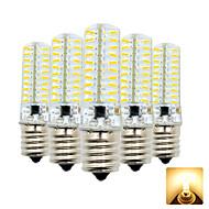 levne -5pcs 4 W 300-400 lm E17 LED corn žárovky T 80 LED korálky SMD 4014 Rozkošný Teplá bílá / Chladná bílá 110-130 V