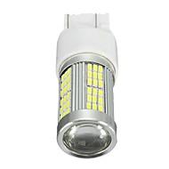 Недорогие -1 шт. Автомобиль Лампы 35 W SMD 3014 2400 lm 102 HID ксеноны / Светодиодная лампа Фары дневного света Назначение Fiat Все года