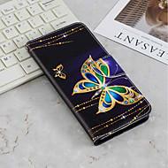 levne -Carcasă Pro Samsung Galaxy Galaxy S10 Plus / Galaxy S10 Lite Peněženka / Pouzdro na karty / se stojánkem Celý kryt Motýl Pevné PU kůže pro S9 / S9 Plus / Galaxy S10