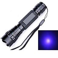 お買い得  フラッシュライト/ランタン/ライト-5 LED懐中電灯 LED LED 1 エミッタ 1200 lm 5 照明モード 防水, 耐衝撃性, 充電式 キャンプ / ハイキング / ケイビング, 日常使用, サイクリング