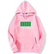 cheap -Men's Hoodie - Geometric Pink XL