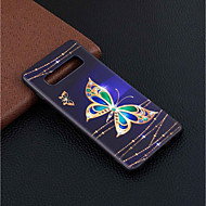 tanie -Kılıf Na Samsung Galaxy Galaxy S10 Plus / Galaxy S10 Lite Wzór Osłona tylna Motyl Miękka TPU na S9 / S9 Plus / Galaxy S10