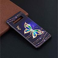 levne -Carcasă Pro Samsung Galaxy Galaxy S10 Plus / Galaxy S10 Lite Vzor Zadní kryt Motýl Měkké TPU pro S9 / S9 Plus / Galaxy S10
