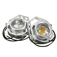 Недорогие -2pcs Мотоцикл / Автомобиль Лампы 10 W 110-1500 lm 1 Светодиодная лампа Противотуманные фары Назначение Дженерал Моторс Все года