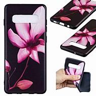 Недорогие Чехлы и кейсы для Galaxy S-Кейс для Назначение SSamsung Galaxy S9 Plus / S8 С узором Кейс на заднюю панель Цветы Мягкий ТПУ для S9 / S9 Plus / S8 Plus