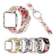 Недорогие Аксессуары для смарт-часов-Ремешок для часов для Fitbit Blaze Fitbit Классическая застежка Натуральная кожа Повязка на запястье