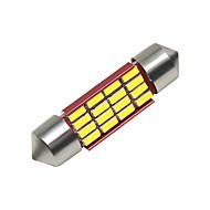 povoljno -SO.K 4kom 36mm Automobil Žarulje 3 W SMD 4014 250 lm 16 LED Svjetla u unutrašnjosti Za Univerzális Sve godine
