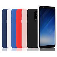 Coque Pour Samsung Galaxy A7 (2018) / Galaxy A9(2018) Dépoli Coque Couleur Pleine Flexible Silicone pour A6 (2018) / A6+ (2018) / A7(2018)