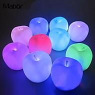 זול -קישוטים לחג לשנה החדשה / קישוטי חג מולד תאורת חג מולד / קישוטים לחג המולד אור LED / דקורטיבי רף צבע 1pc