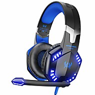 ราคาถูก เมาส์และคีย์บอร์ดลดราคา-Kotion แต่ละ g2000 สเตอริโอ gaming headset สำหรับ xbox one ps4 pc, เสียงรอบทิศทางหูฟัง over-ear พร้อมไมโครโฟนตัดเสียงรบกวน, ไฟ led, การควบคุมระดับเสียงสำหรับแล็ปท็อป, mac, ps3, nintendo switch