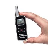 cheap -M6P Two Way Radio 128 channel 400-520mhz with LCD Display Ham FM Radio Mini Walkie Talkie for Restaurant/Hotel/School
