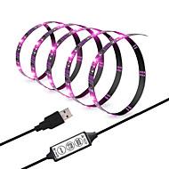 voordelige -ZDM® 3M Verlichtingssets / RGB-verlichtingsstrips 90 LEDs 5050 SMD RGB Knipbaar / USB / Geschikt voor voertuigen 5 V / Voeding Via USB 1 set