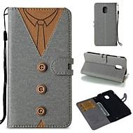 Недорогие Чехлы и кейсы для Galaxy A5(2017)-Кейс для Назначение SSamsung Galaxy S9 / S8 Кошелек / Бумажник для карт / Флип Чехол Однотонный Мягкий Кожа PU для S9 / S9 Plus / S8 Plus
