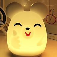 ieftine -1 buc LED-uri de lumină de noapte Galben Baterii AA alimentate Creative <=36 V