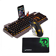 cheap -LITBest G3 USB Wired Mouse Keyboard Combo Color Gradient / Backlit Gaming Keyboard Luminous Gaming Mouse / Ergonomic Mouse 2400 dpi