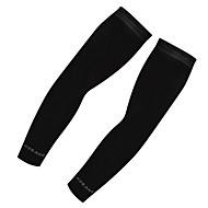 levne -Návleky na ruce Kompresní ponožky Sportovní ponožky / atletické ponožky Cyklistické ponožky Kolo / Cyklistika Jízda na kole Rychleschnoucí Odolný vůči UV záření 2 Jednobarevné Umělé hedvábí Bílá Černá