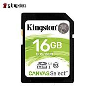 billiga -Kingston 16GB SD Kort minneskort class10
