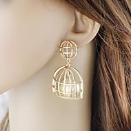 levne -Dámské Visací náušnice - Perly Klícka stylové Romantické Šperky Zlatá Pro Denní Rande 1 Pair