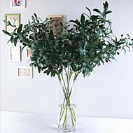 お買い得  -人工花 1 ブランチ クラシック 欧風 田園 スタイル 植物 テーブルトップフラワー