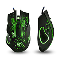 cheap -IMICE X9 Wired USB Gaming Mouse Led Breathing Light 800/1200/1600/2400 dpi 4 Adjustable DPI Levels 6 pcs Keys
