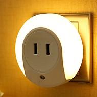 ieftine -1 buc LED-uri de lumină de noapte Galben DC Powered <=36 V