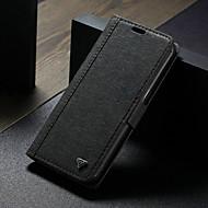 ราคาถูก -WHATIF Case สำหรับ Samsung Galaxy S7 edge Wallet / Card Holder / with Stand ตัวกระเป๋าเต็ม สีพื้น Hard หนัง PU สำหรับ S7 edge