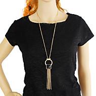 levne -Dámské Třásně dlouhý náhrdelník - Módní Cool Zlatá 74.5 cm Náhrdelníky Šperky 1ks Pro Denní