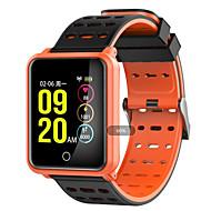 N88 Intelligens Watch Android iOS Bluetooth Smart Sportok Vízálló Szívritmus monitorizálás Dugók & Töltők Lépésszámláló Hívás emlékeztető Testmozgásfigyelő Alvás nyomkövető