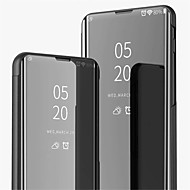 cheap -Case For OPPO Oppo R11 Plus / Oppo R11 with Stand / Plating / Mirror Full Body Cases Solid Colored Hard PU Leather for OPPO R11 Plus / OPPO R11 / OPPO R9s Plus