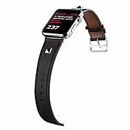 Urrem for Apple Watch Series 4/3/2/1 Apple Klassisk spænde Ægte læder Håndledsrem