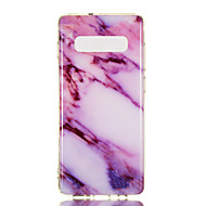 cheap -Case For Samsung Galaxy Galaxy S10 Plus / Galaxy S10 E IMD / Pattern Back Cover Marble Soft TPU for S9 / S9 Plus / S8 Plus