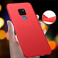 cheap -Case For Huawei Huawei Mate 20 Pro / Huawei Mate 20 Ultra-thin / Frosted Back Cover Solid Colored Soft TPU for Mate 10 / Mate 10 lite / Huawei Mate 20 lite