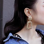 זול -בגדי ריקוד נשים עגיל עגילים תכשיטים זהב / כסף עבור Party יוֹם הַשָׁנָה מתנה ליציאה פֶסטִיבָל זוג 1