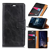 cheap -Nillkin Case For Xiaomi Xiaomi A2 / Xiaomi Redmi Note 7 Wallet / Card Holder / Shockproof Full Body Cases Solid Colored Hard PU Leather for Xiaomi Redmi Note 5 Pro / Xiaomi Pocophone F1 / Xiaomi