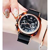 levne -Dámské Náramkové hodinky Křemenný Černá / Bílá / Modrá Voděodolné kreativita Analogové Třpyt Módní - Červená Zelená Modrá