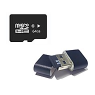 abordables -Ants 64Go TF carte Micro SD Card carte mémoire Class10 64GB Micro SD Card TF Card