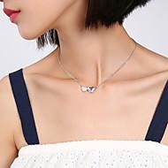 저렴한 -여성용 목걸이 하트 로즈 레드 40+5 cm 목걸이 보석류 1 개 제품 생일 선물 행사 애인 제전
