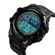 Χαμηλού Κόστους -SKMEI Ανδρικά Ψηφιακό ρολόι Ψηφιακό Συνθετικό δέρμα με επένδυση Μαύρο / Μπλε 50 m Ανθεκτικό στο Νερό Ημερολόγιο Χρονόμετρο Ψηφιακό Κλασσικό Μοντέρνα - Κόκκινο Πράσινο Μπλε