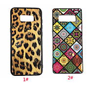 Case For Samsung Galaxy S9 Plus / S9 Pattern Back Cover Leopard Print / Flower Soft Silica Gel for S9 / S9 Plus / S8 Plus